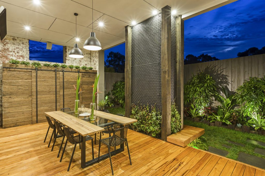 garden and seat lighting